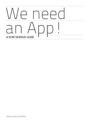 We Need An App!